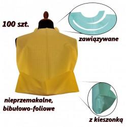 Śliniaki stomatologiczne jednorazowe 100 sztuk
