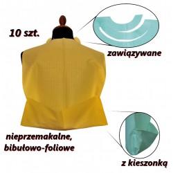 Śliniaki stomatologiczne jednorazowe 10 sztuk