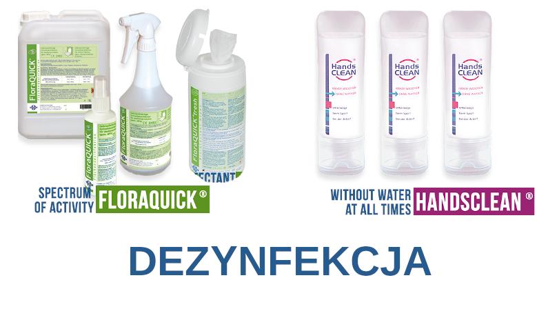 Produkty do dezynfekcji